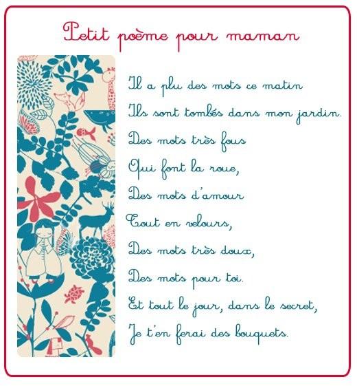 Petit Poème Pour Maman